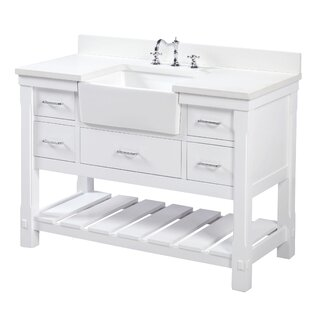 Inch Bathroom Vanities Youll Love Wayfair - Cheap white bathroom vanity