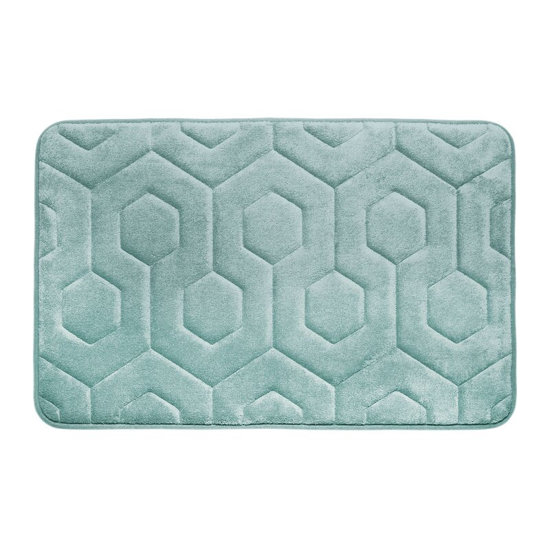 Micro Plush Memory Foam Bath Rug