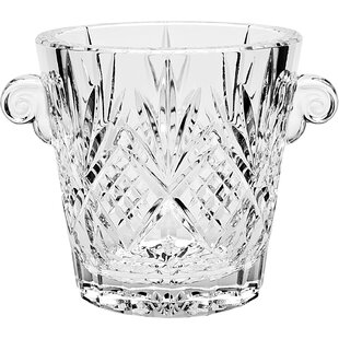 Nicolas Crystal Ice Bucket