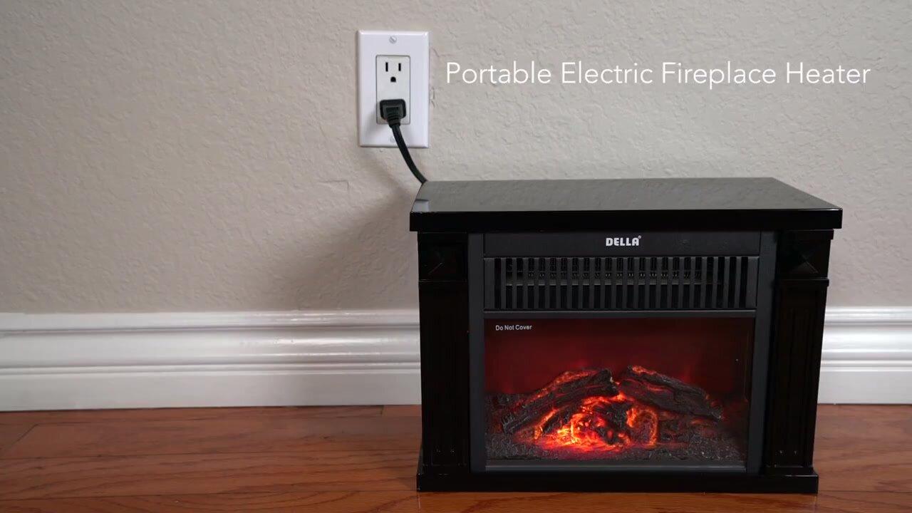 della hearth portable 1200 watt electric heater u0026 reviews wayfair