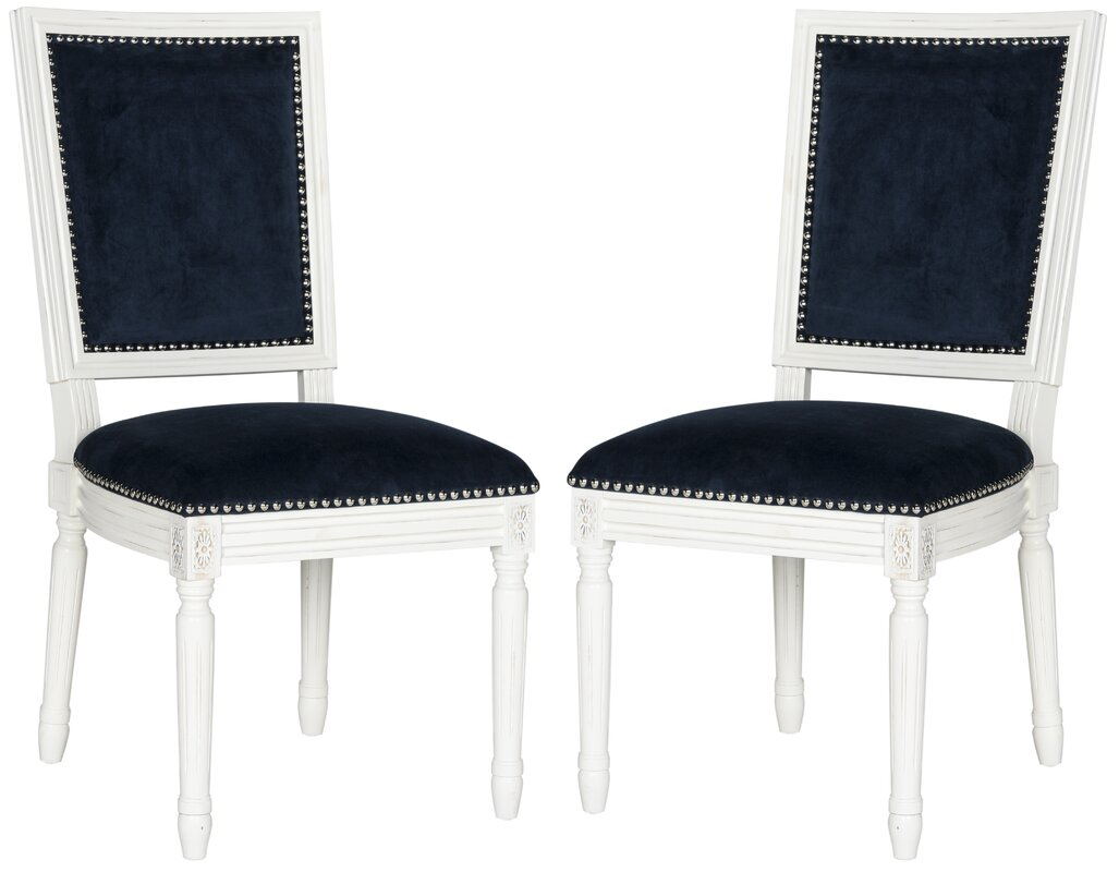 accent chairs for dining room clarity photographs | Safavieh Vaucluse Upholstered Dining Chair & Reviews ...