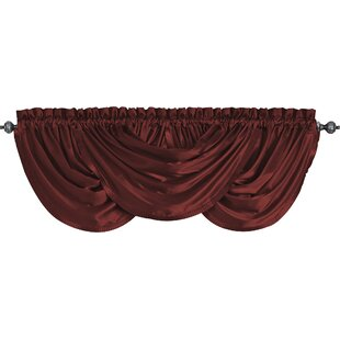 Red Swag Valances U0026 Kitchen Curtains Youu0027ll Love | Wayfair