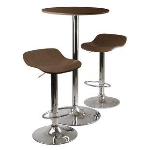Villawood 3 Piece Pub Table Set