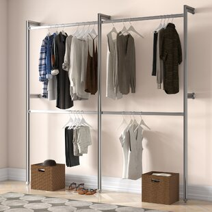 Relax 233cm Wide Clothes Storage System