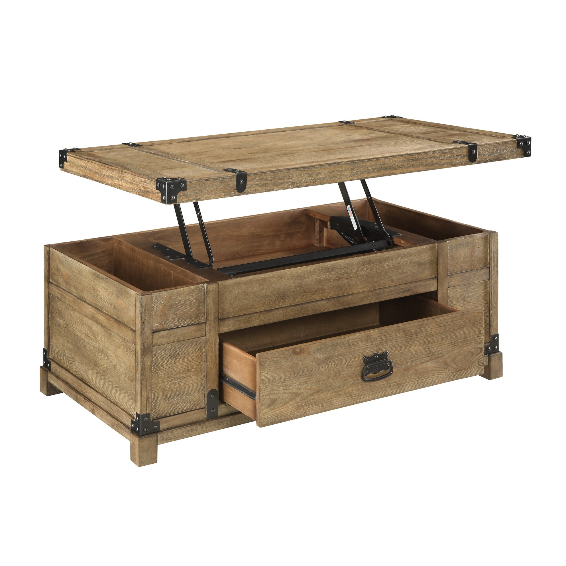 Small Coffee Tables That Lift Up: Coast To Coast Imports Treasure Coffee Table With Lift Top