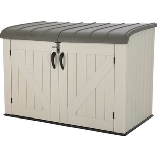 D Plastic Storage Shed  sc 1 st  Wayfair & Outside Bike Storage Shed | Wayfair