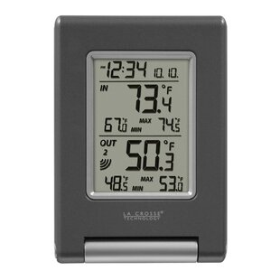 Back To Search Resultssecurity & Protection Honey Colorful Large Screen Thermometer Hygrometer Weather Station Sunrise Sunset Display Outdoor Indoor Temperature Humidity Sensor