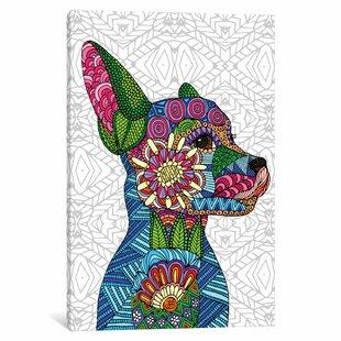 Folk Art Puppy Graphic Art on Wrapped Canvas  sc 1 st  Wayfair & Folk Art Dinnerware | Wayfair