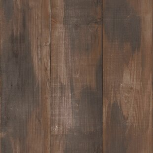 Wood Stained 33 X 208 Wallpaper Panel