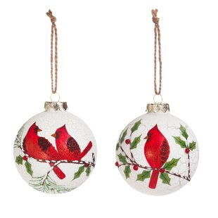 Well known Red Cardinal Ornaments   Wayfair ZH64