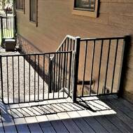 Stairway Special Outdoor Safety Gate