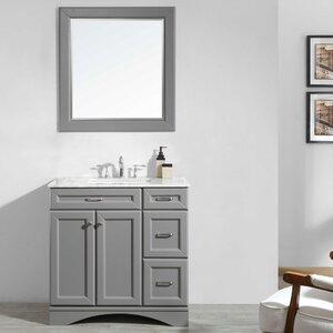 Jonina 36 Bathroom Vanity Set with Mirror