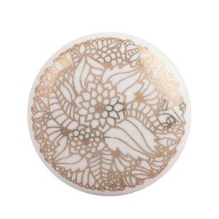 Flat Ceramic Drawer Novelty Knob