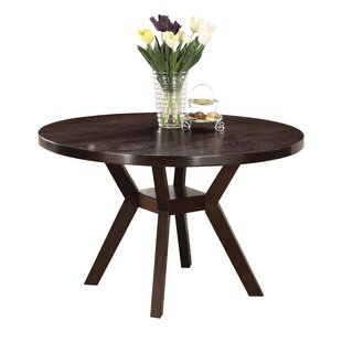 Keziah Round Wooden Dining Table