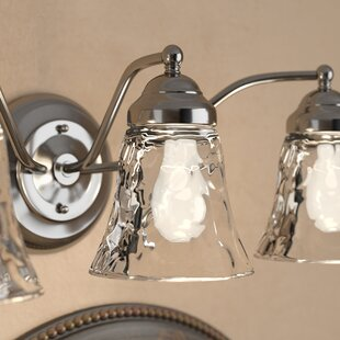 Clear Hammered 5 Gl Bell Pendant Shade