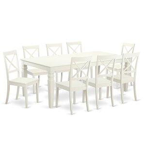 Belavida 9 Piece Dining Set by Darby Home..