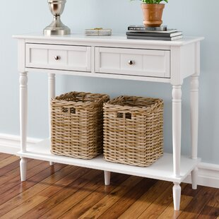 Narrow White Console Table Wayfair