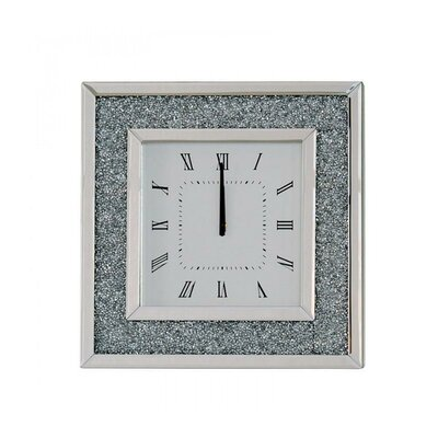 Square Wall Clocks Wayfair Co Uk