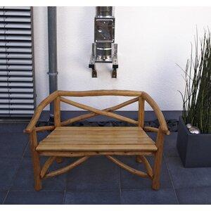 2-Sitzer Gartenbank Rossbachtal aus Massivholz v..