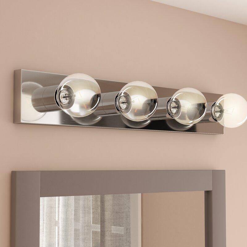 Willa arlo interiors foster 4 light bath bar reviews wayfair foster 4 light bath bar aloadofball Images