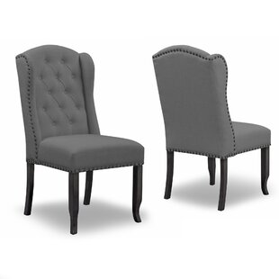 Chevaliers Upholstered Dining Chair (Set of 2)