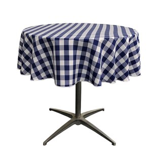 Blue Checkered Tablecloth | Wayfair