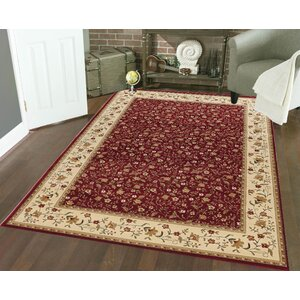 Colebrook Red Area Rug