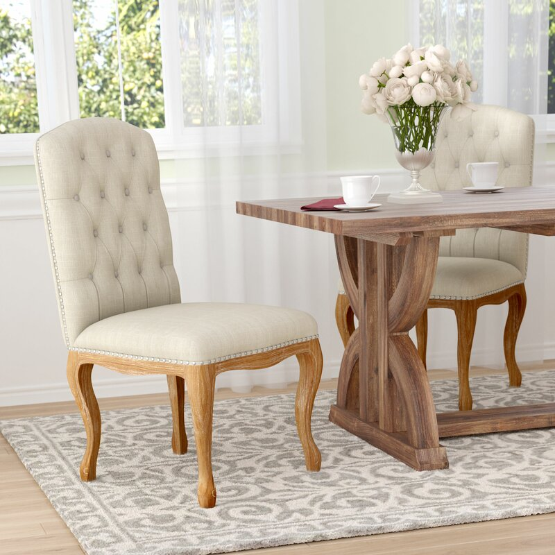 cloth dining chairs. Bernadine Upholstered Dining Chair Cloth Chairs