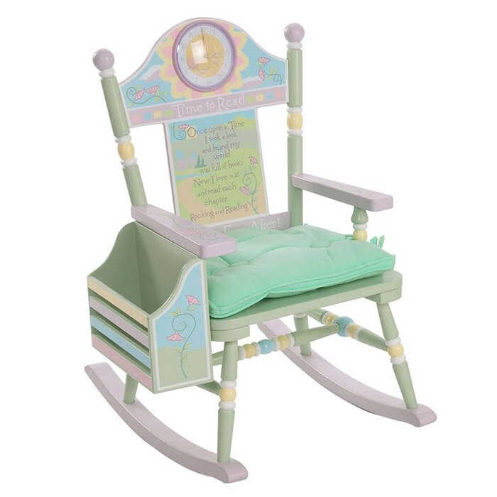 Superbe Wildkin Rock A Buddies Time To Read Kids Rocking Chair