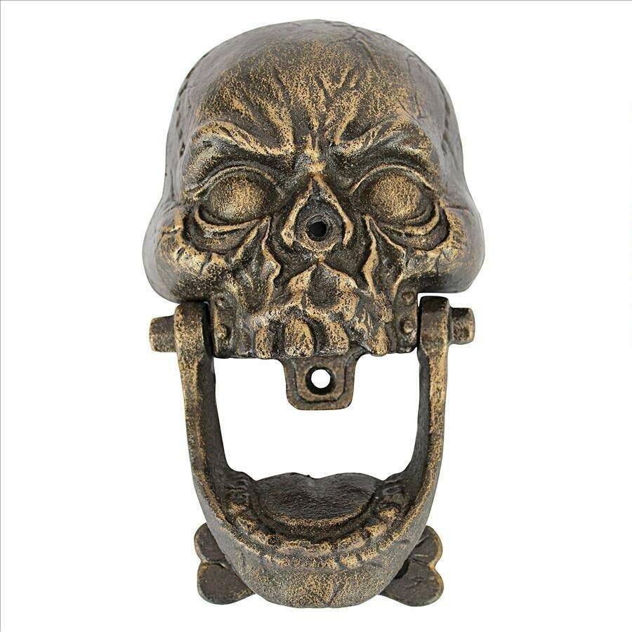 Design Toscano Skull Door Knocker | Wayfair