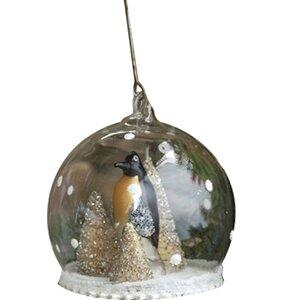Penguin Globe Ornament (Set of 6)