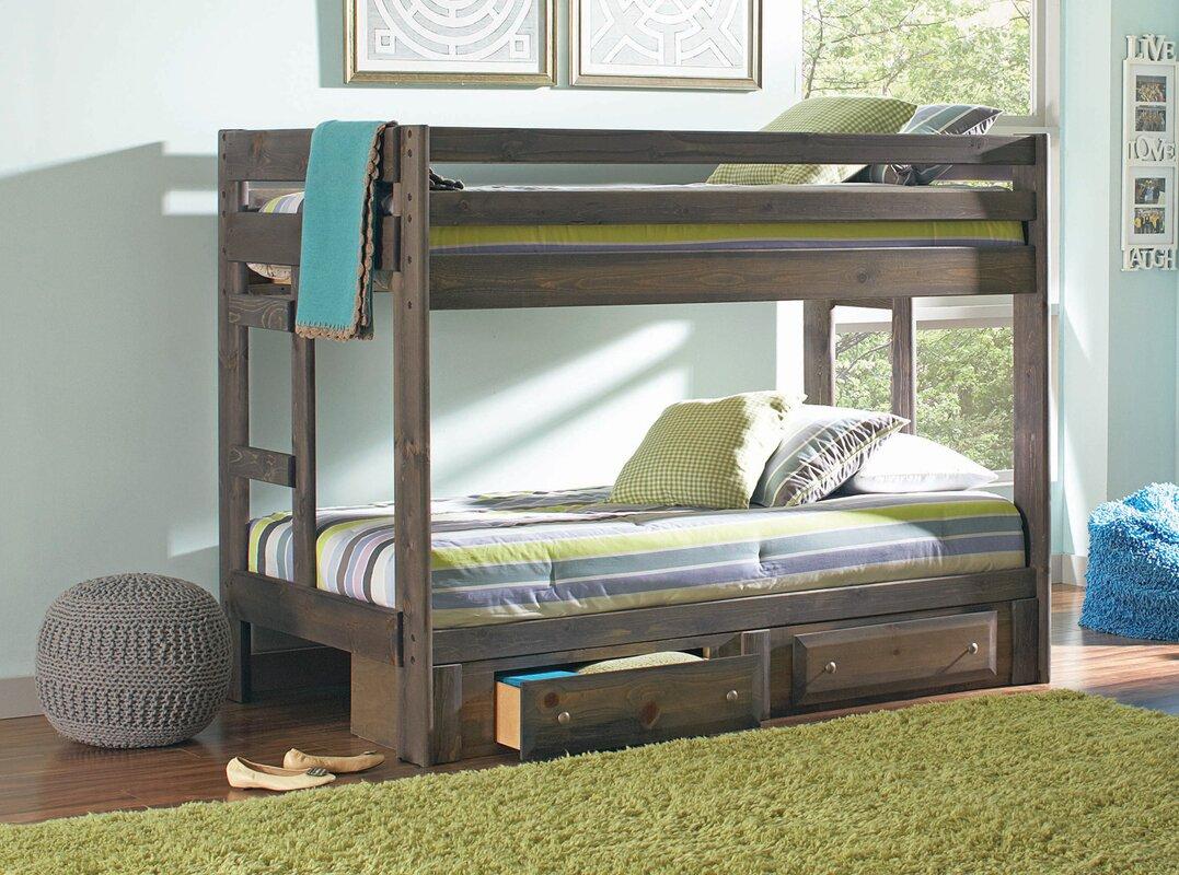 Malina Twin Over Bunk Bed