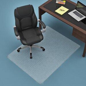commercial carpet straight edge chair mat - Desk Chair Mat