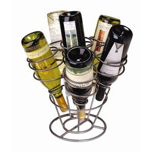 Varnum 6 Bottle Tabletop Wine Rack by Andover Mills