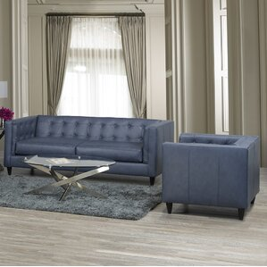 Pranzal 2 Piece Living Room Set by 17 Stories