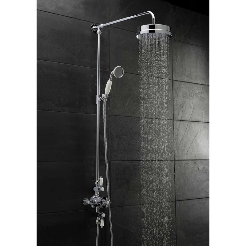 Premier Victorian Triple Exposed Thermostatic Shower Valve & Reviews ...