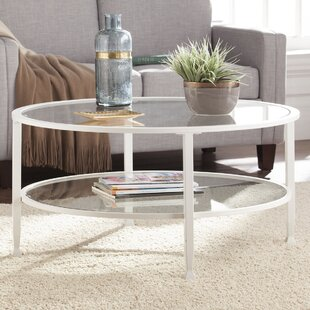 Round White Coffee Tables You Ll Love Wayfair
