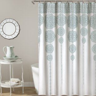 Slate Blue Shower Curtain