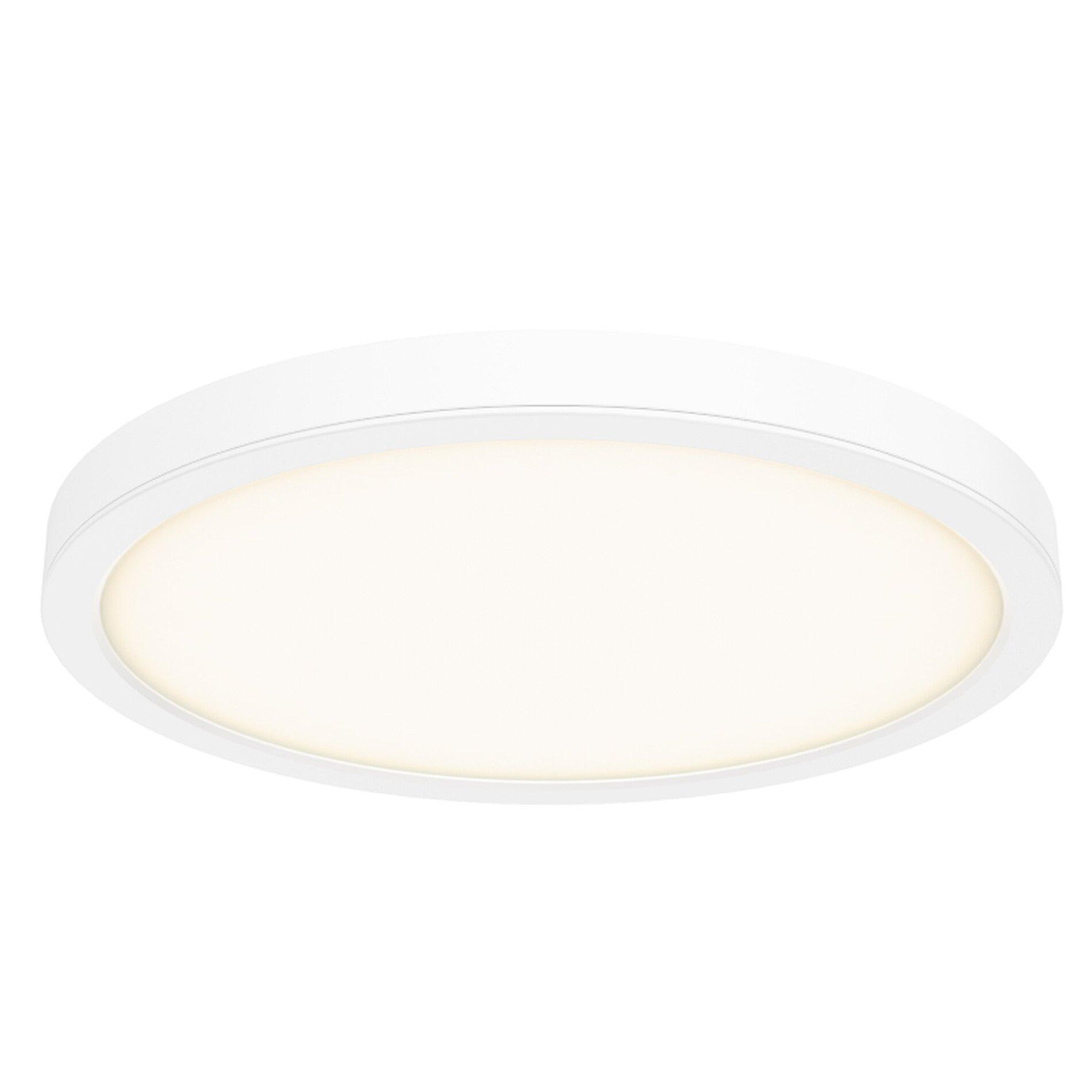 Jaclynn ceiling 1 light led flush mount