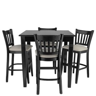 Weisgerber 5 Piece Pub Table Set