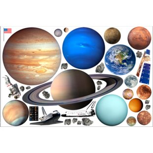 f5828540382d Astronomy & Space Wall Decals You'll Love in 2019 | Wayfair