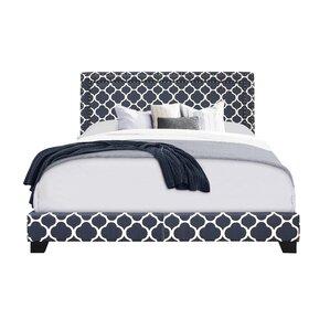 Upholstered Panel Bed by Pulaski Furniture