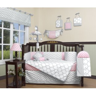 Chevron 13 Piece Crib Bedding Set