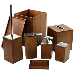 Wood Bathroom Accessories Youu0027ll Love | Wayfair