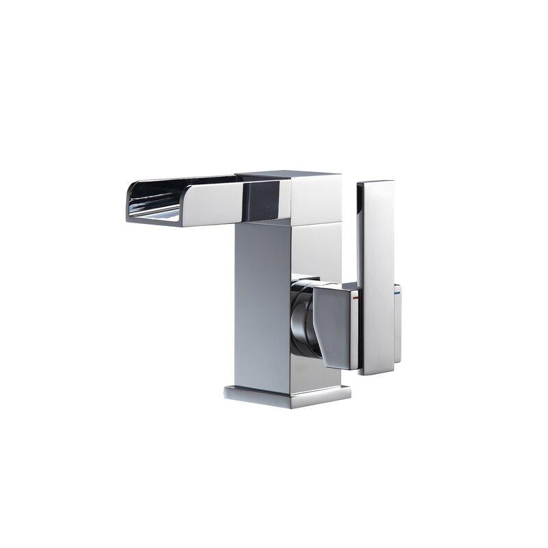 Aqua Fontana Single Lever Waterfall Bathroom Faucet