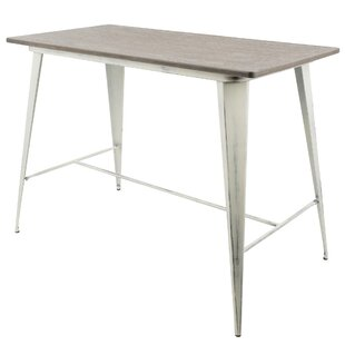 Alberton Industrial Counter Height Dining Table