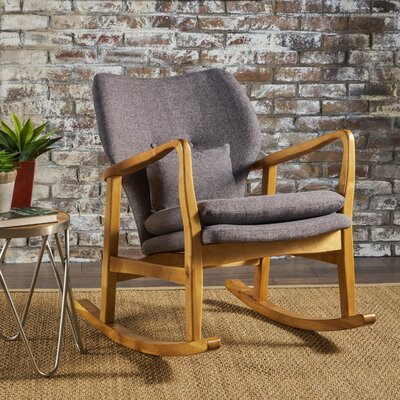 Saum Fabric Rocking Chair