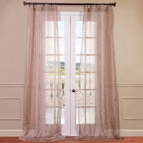 pattern curtains geometric co musefilms curtain embroidered elegant sheer with casual patterned white