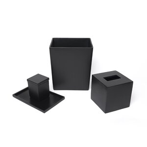 Cutting Edge 4-Piece Bathroom Accessory Set