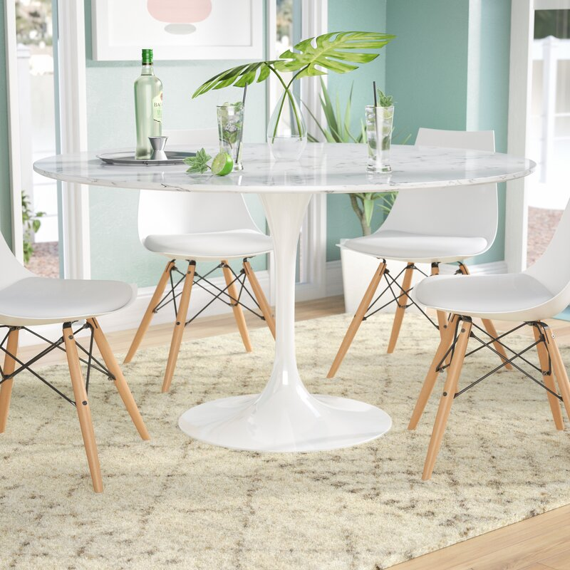 Genial Julien Artificial Marble Dining Table